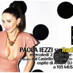 Paola Iezzi ospite su Radio 105