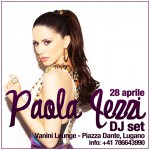 Paola Iezzi special DJ set – Vanini Lounge – Lugano (CH)