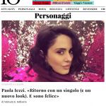 Paola Iezzi su IO donna