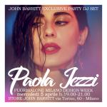 Paola Iezzi special DJ set John Barritt Store – Fuorisalone – Milano