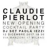 Paola Iezzi special DJ set – Claudie Pierlot Boutique – Milano