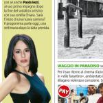 Paola su TV Sorrisi e Canzoni – articolo
