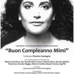 """Paola Iezzi al Teatro Nuovo di Milano per """"Buon compleanno Mimì"""""""