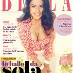 Paola in copertina su BELLA di ottobre
