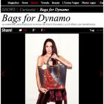 Bags for Dynamo – articolo su Vogue.it