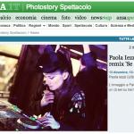 Paola Iezzi DJ – Se perdo te – articolo su Ansa.it