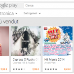 Se perdo te – classifica Google play