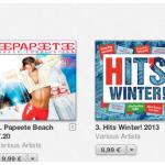 Se perdo te – classifiche iTunes