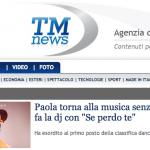 Paola Iezzi – Se perdo te – TMNews