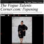 Paola Iezzi su Vogue.it – The Vogue Talents Corner.com