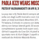 Paola Iezzi su The style – ValeriaJMarchetti.com