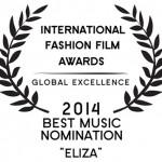 Se perdo te, Eliza's soundtrack: BEST MUSIC NOMINATION – La Jolla International Fashion Film Festival