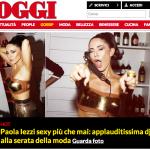 Paola Iezzi su Oggi.it