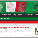 Paola Iezzi canta The sun always shines on TV, segnalazione sul Fan Club italiano degli A-ha