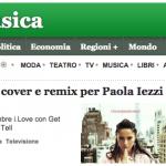 Paola Iezzi su Ansa.it