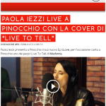Paola Iezzi a Pinocchio – video e podcast