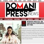 Paola Iezzi, intervista su Domani Press