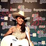 Paola Iezzi per Telethon