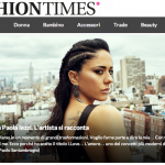 Paola Iezzi, intervista su Fashion Times