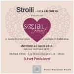 Paola Iezzi special DJ set per Stroili a Milano
