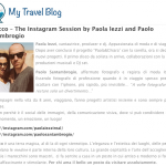 Paola Iezzi su My Travel Blog