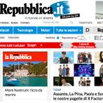 Paola Iezzi su Tvzap e in home page su Repubblica con le pagelle di X Factor