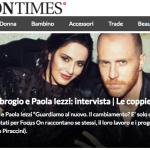 Paola Iezzi e Paolo Santambrogio, intervista su Fashion Times