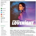 Paola Iezzi torna con il brano Lovenight – Ansa.it
