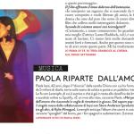 Paola Iezzi su Grazia n. 31/2016 – articolo