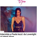 Paola Iezzi, intervista sul blog Lo sgabuzzino di Maryo