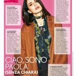 Paola Iezzi su TU Style n. 47/2016 – articolo