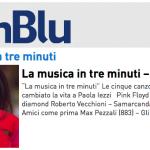Paola Iezzi a La musica in tre minuti su Radio InBlu – podcast