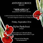 Paola Iezzi special DJ set – Antonio Croce – Milano