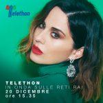 Paola Iezzi a Telethon 2019