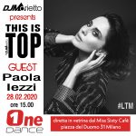 Paola Iezzi ospite a This is Top su One Dance