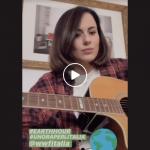 Paola Iezzi per #earthhour #unoraperlitalia